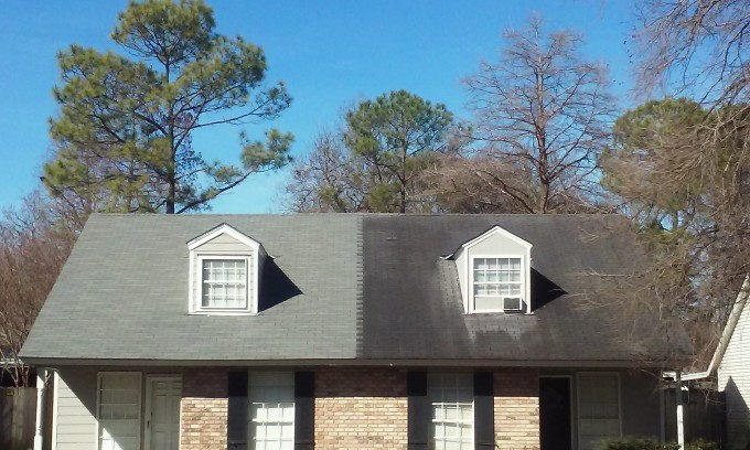 Clean vs Dirty Baton Rouge Roof
