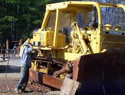 heavy equipment cleaning new orleans louisiana
