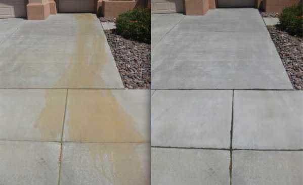 Pressure washing blog archives tiger wash pressure for Clean rust off concrete patio