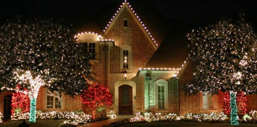 Christmas Light Installation Services New Orleans LA Tiger  - New Orleans Christmas Lights