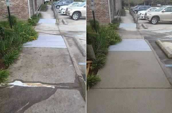 commercial concrete cleaning new orleans